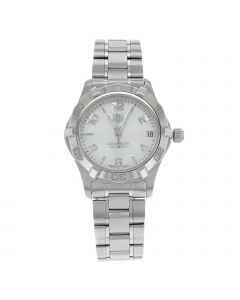 TAG HEUER AQUARACER 32MM STAINLESS STEEL WATCH
