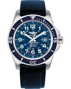 Breitling Superocean II 44mm - Diver Pro II Strap - Tang Men's Watches - A17392D8/C910-diver-pro-ii-blue-tang