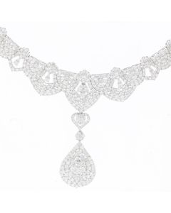 DIAMOND NECKLACE 18K