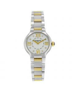 RAYMOND WEIL NOEMIA STAINLESS & SOLID GOLD 27MM STAINLESS STEEL WATCH