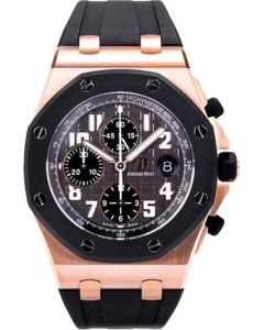 Audemars Piguet Royal Oak Offshore Pink Gold Men's Watch-26178OK.OO.D002CA.01