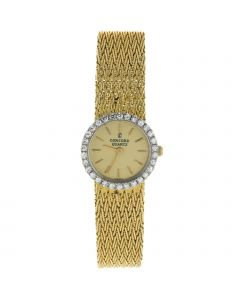 CONCORD YELLOW GOLD 19 MM YELLOW GOLD WATCH