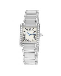 2013 Cartier Tank  2403  millimeters white Dial