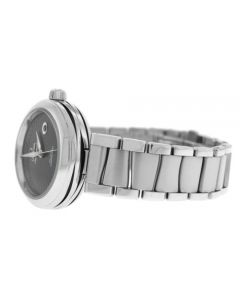 Ladies Omega Ladymatic De Ville 425.30.34.20.01.001 Steel Automatic 34MM Watch
