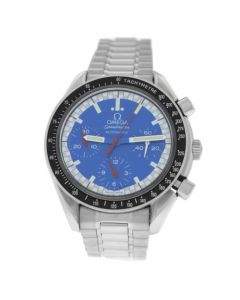 Mens Omega Speedmaster 3510.80 Steel Chronograph 39MM Automatic Watch