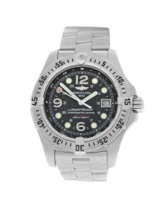 Men's Breitling Superocean Steelfish A17390 Stainless Steel Automatic 44MM Watch