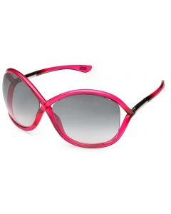 New Tom Ford TF 9 72B Whitney Pink Sunglasses