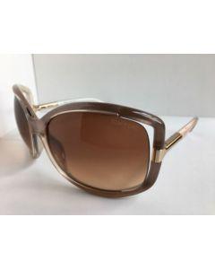 New Tom Ford TF 125 74F Anais Beige Pearl Sunglasses