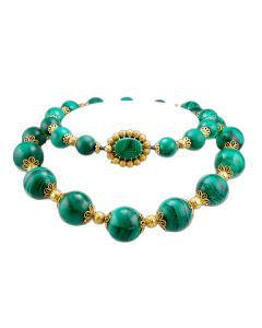 CARTIER MALACHITE NECKLACE