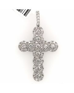 14K WHITE GOLD, DIA-1.0CT, WEIGHT-2.45GR