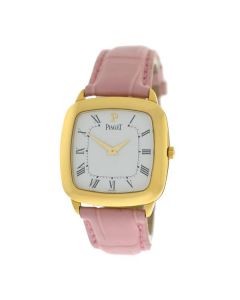 NOS Ladies Piaget Coussinet G0A19520 18K Solid Yellow Gold Mechanical Watch