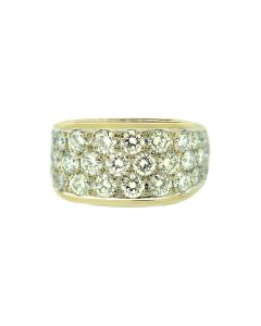 Bucherer 18k Gold and Diamond Ring