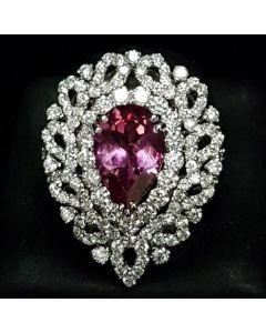 WG DIAMOND WITH RUBY RING